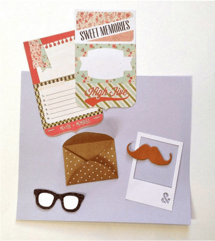 Tutorial - Making good use of those scraps from Cocoa Daisy