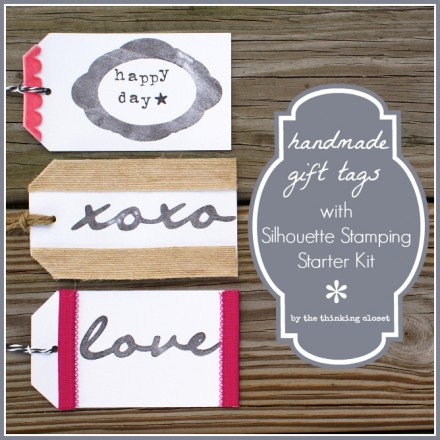 Tutorial - Stamping with the Silhouette Stamping Kit