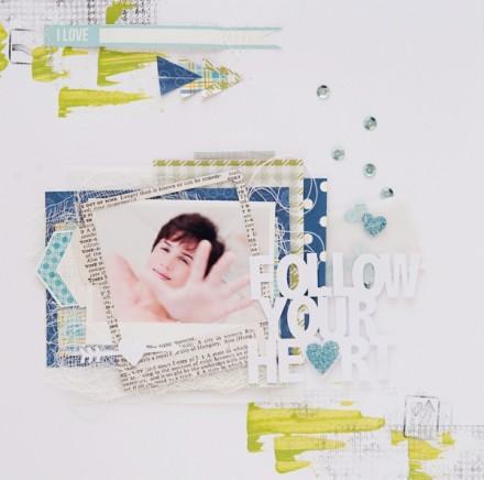 Inspiration du Jour - Follow Your Heart by sisiscrap