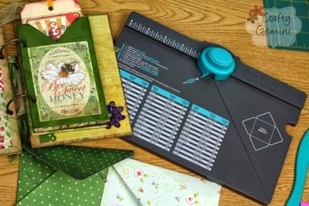 Video Tutorial - Envelope Punch Board by Crafty Gemini