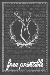 Freebie | Rudolph the Red-Nosed Reindeer Printable Poster