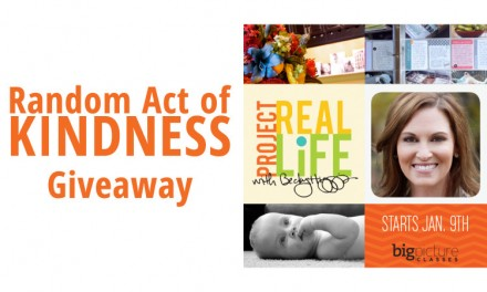 Giveaway - Project Real Life Class