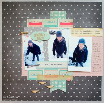 Inspiration du Jour - Snowy Day by dianaj1012