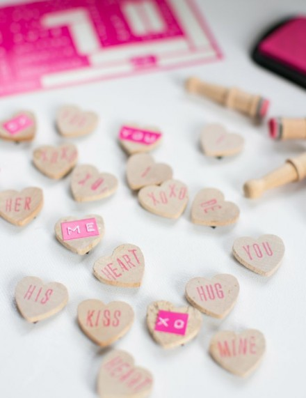 Tutorial - DIY Conversation Hearts by Henry Happened
