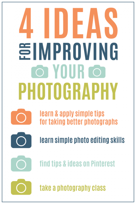 Photography for Scrapbookers - 4 ideas for Improving Your Photography