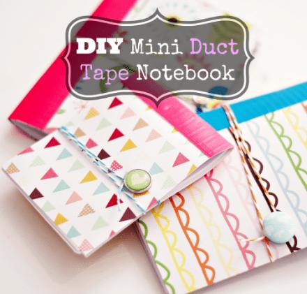 Tutorial - DIY Mini Patterned Notebook