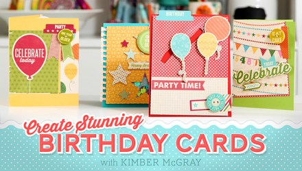Giveaway - Card Class by Kimber McGray at Craftsy
