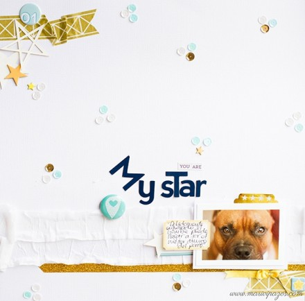 Inspiration du Jour - You Are My Star by Marivi
