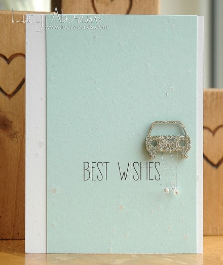 Tutorial - Best Wishes Card by Lucy's Cards