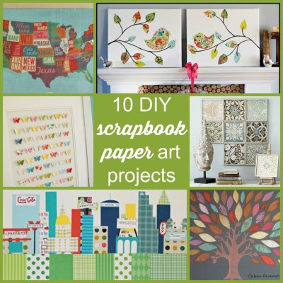 scrapbooking craft ideas 10 diy scrapbook paper projects scrap booking 2887