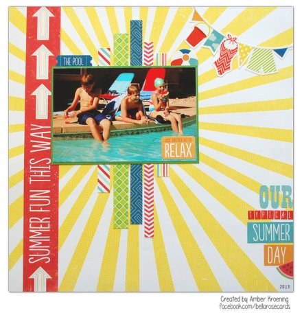 Inspiration du Jour - Our Typical Summer Day by Amber77k