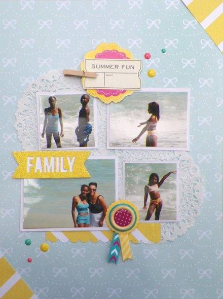 Inspiration du Jour - Summer Fun by Ajones365