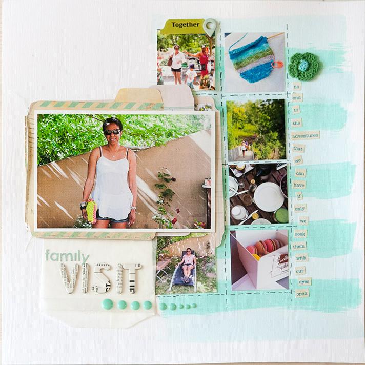 Craft Gossip Summer of Sketches 16 - Francine Clouden