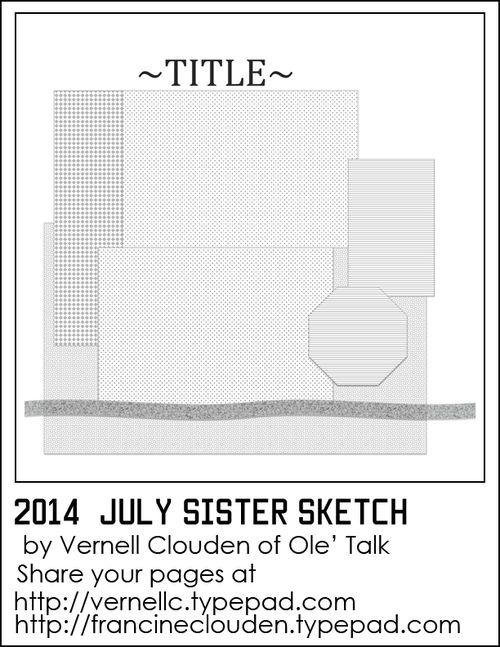 Craft Gossip Summer of Sketches 17 - Aug 27th