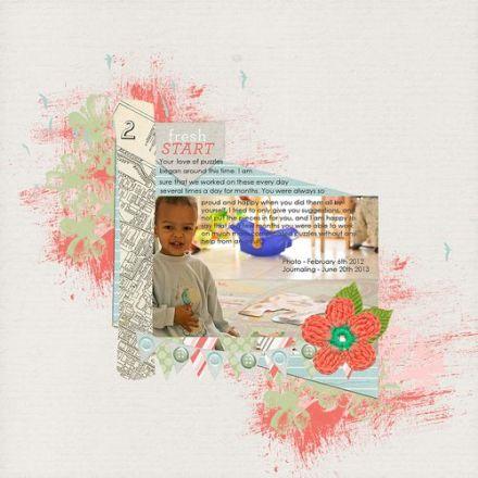 Craft Gossip Summer of Sketches 6 - Francine Clouden
