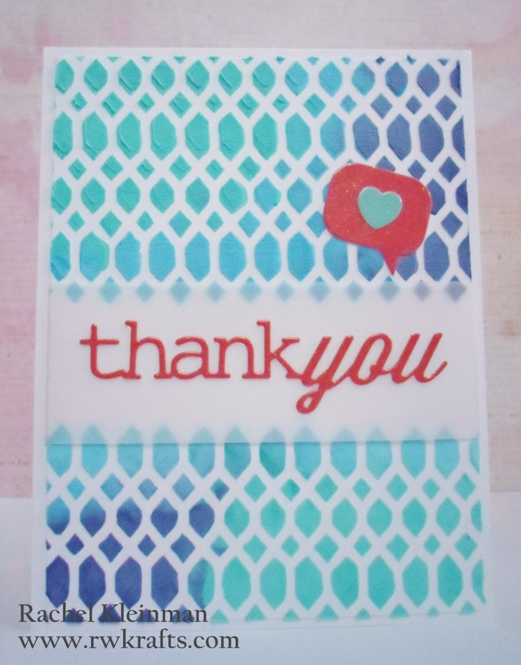 Tutorial - Embossing Paste Backgrounds at RW Krafts