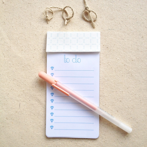 DIY To Do List Notepad - Maritza Lisa