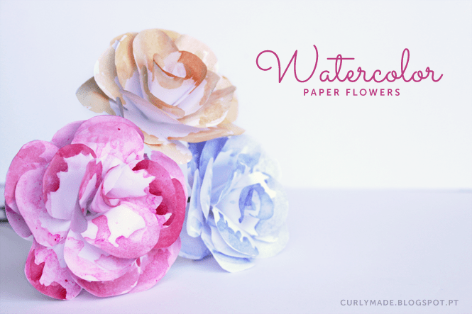 Tutorial - DIY Waterflower Colours by Curly Made
