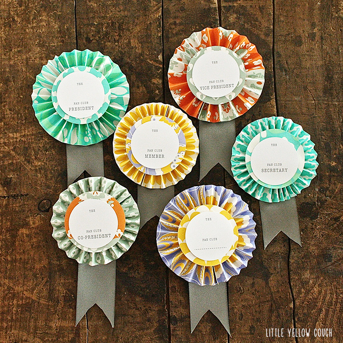 Fall decor or embellishment idea paper brooches scrap for Decorative pins for crafts