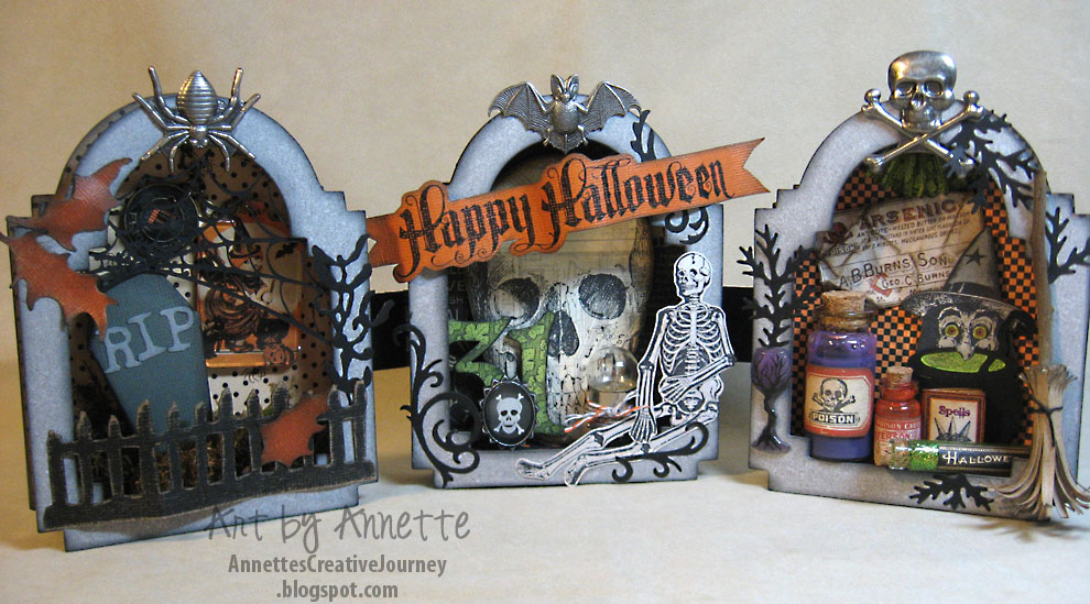 Tombstone-Trio-project by Annette's Creative Journey