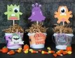 Tutorial | Adorable Monster Halloween Decor