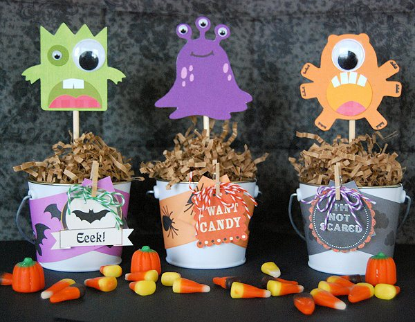 Tutorial - Monsterously Cute Halloween Decor at Creative Me Inspired You