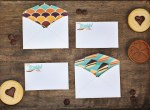 Freebie |Mini Thankful Cards & Envelopes