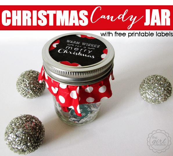 share lots of love this holiday season with these christmas candy jars these little delights are perfect for friends and family and anyone to whom you