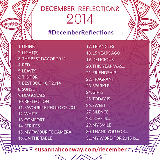 Susannah Conway december reflections