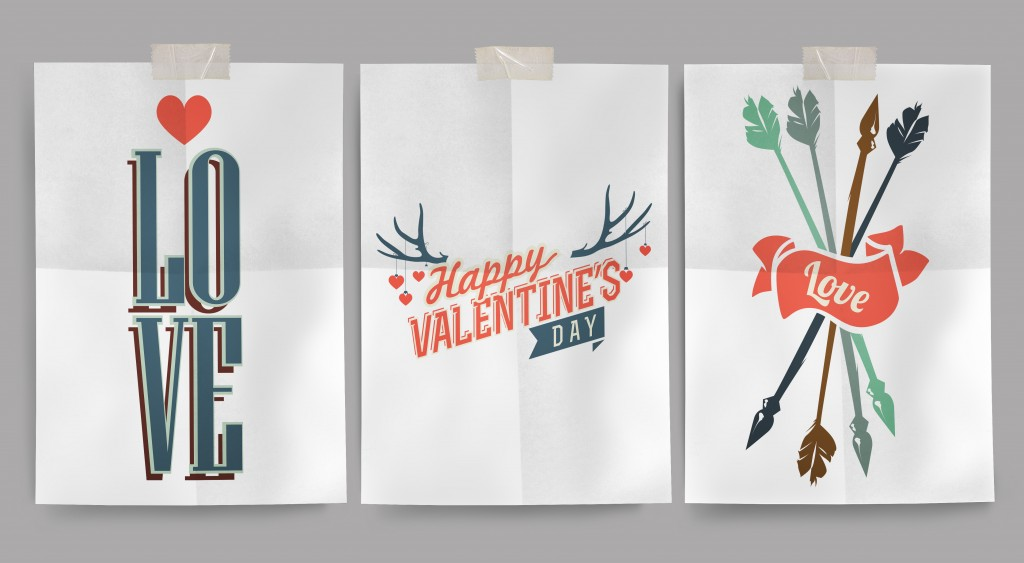 Fancy Free Printable Valentines Day Wall Art Poster MU