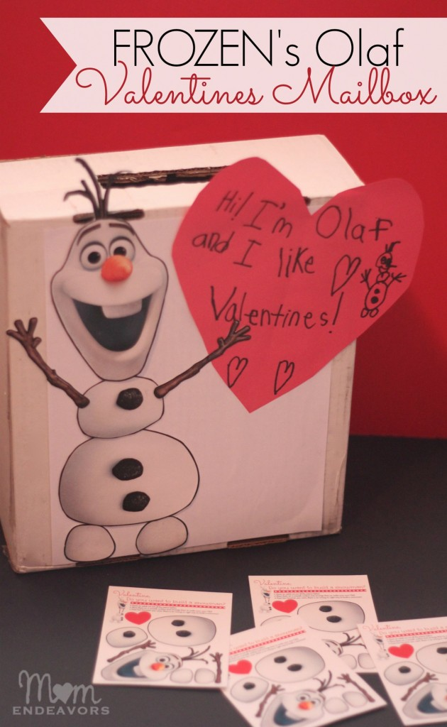Disney-Frozens-Olaf-DIY-Valentines-Mailbox-630x1024
