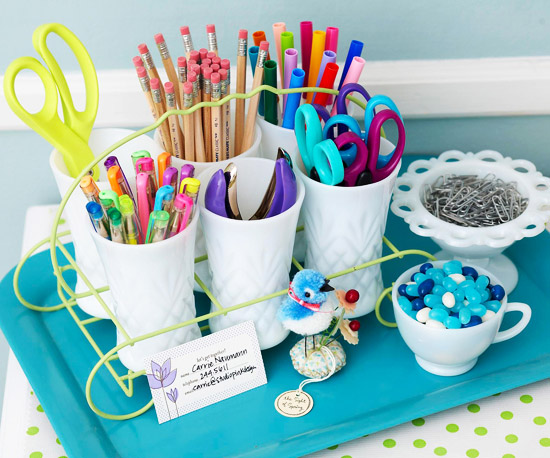 Quick & Clever Ideas for Organizing Craft Supplies