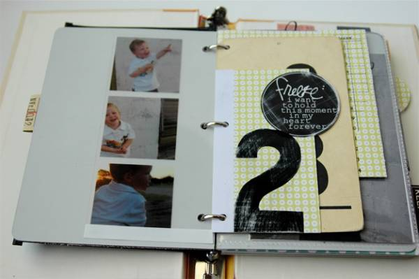 Make an Old Book into a Binder Scrapbook