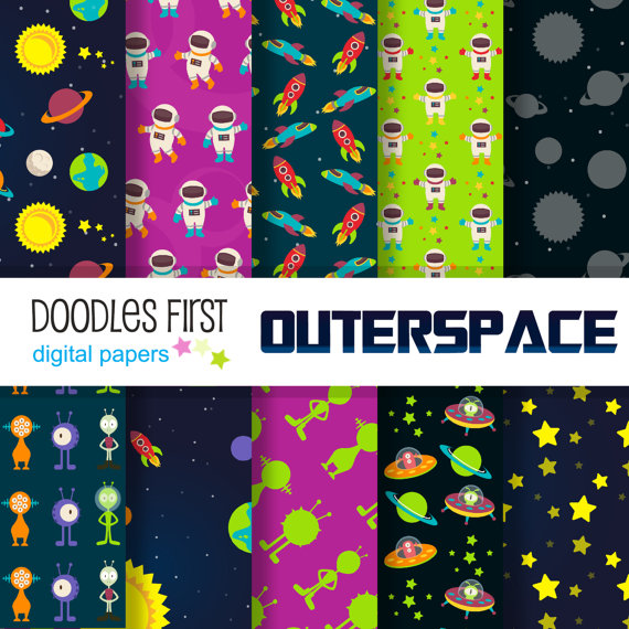 Outer Space Galaxy Adventure Pack