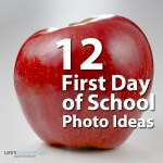 Photography for Scrapbookers |12 First Day of School Photo Ideas