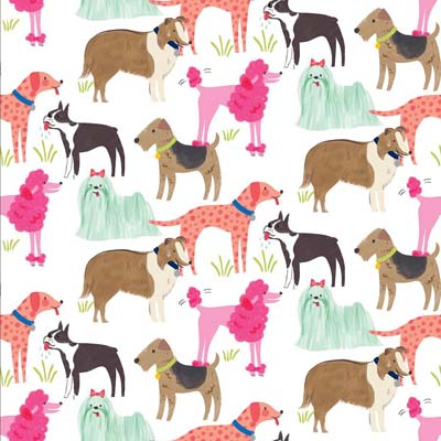 Anna Griffin Dog Breeds 12 x 12 Scrapbook paper