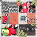 Halloween Scrapbook Page Titles + Layout Ideas