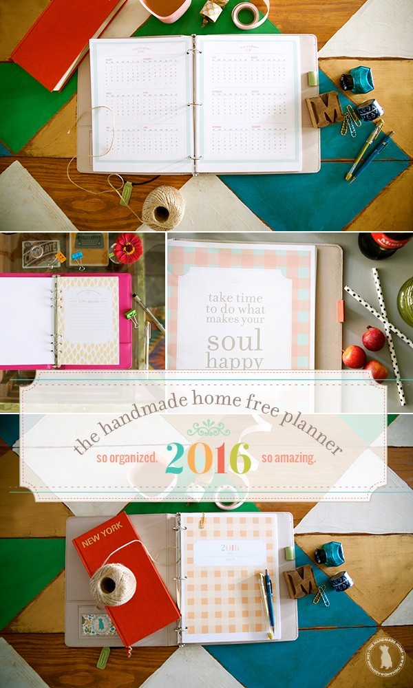 get ready to organize the new year with this free 2016