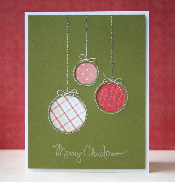 5 ideas for easy diy christmas cards scrap booking