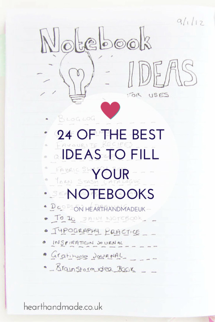 24 Of The Best Ideas To Fill Your Notebooks Scrap Booking