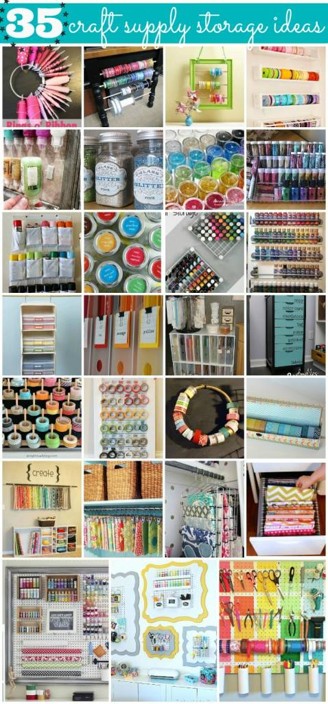 How Is Your Scrap Room Organization Going? I Find That Working In  Categories Really Helps Me, So I Was Happy To See This Blog Post From  Becoming Martha.