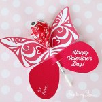 Free Butterfly Printable Valentine