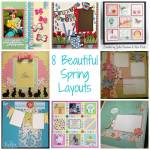8 Beautiful Spring Layouts