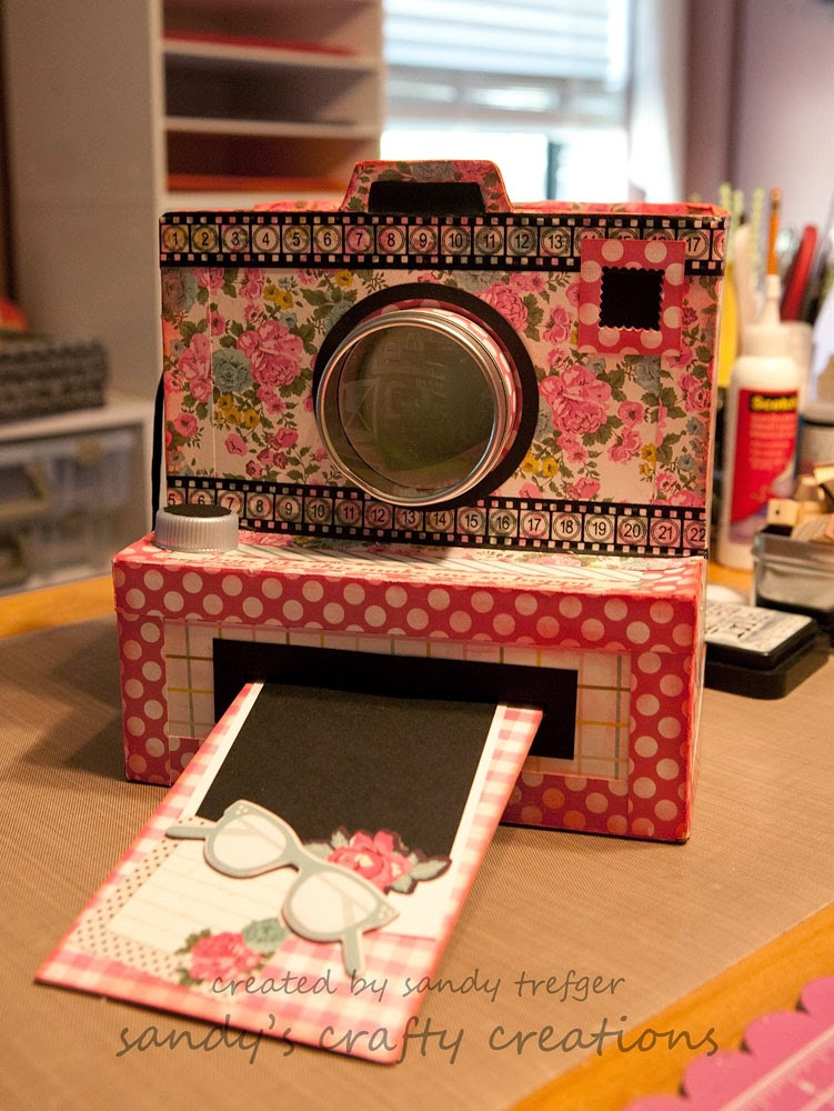 Four Ways To Make A Mini Album That Looks Like A Camera