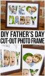 DIY Father's Day Photo Frame Tutorial