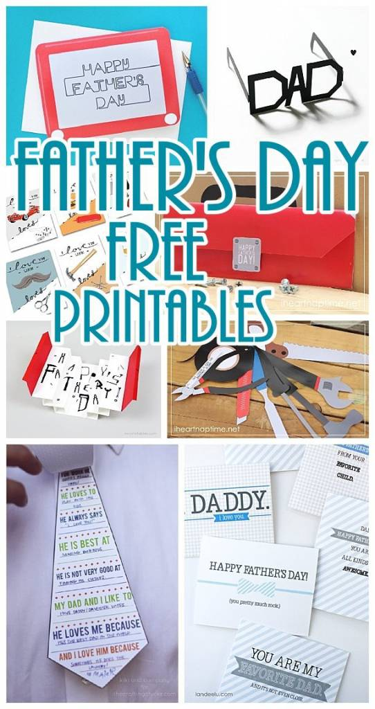 The Best Free Printable Paper Crafts Just For Dad Scrap