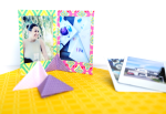 DIY Origami Photo Stand
