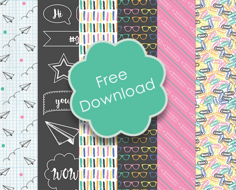 Free Printable Back to School Papers – Scrap Booking