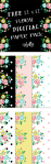 Free Floral Delight Scrapbooking Paper