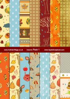 autumn-scrapbook-papers